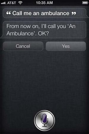 Siri goes wrong