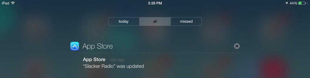 Apple AppStore notifcation. Should I really be notified about that?